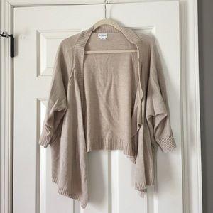 3 Quarter Sleeve Maternity Cardigan Sweater